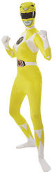 Yellow Power Ranger Ladies 2nd Skin Suit