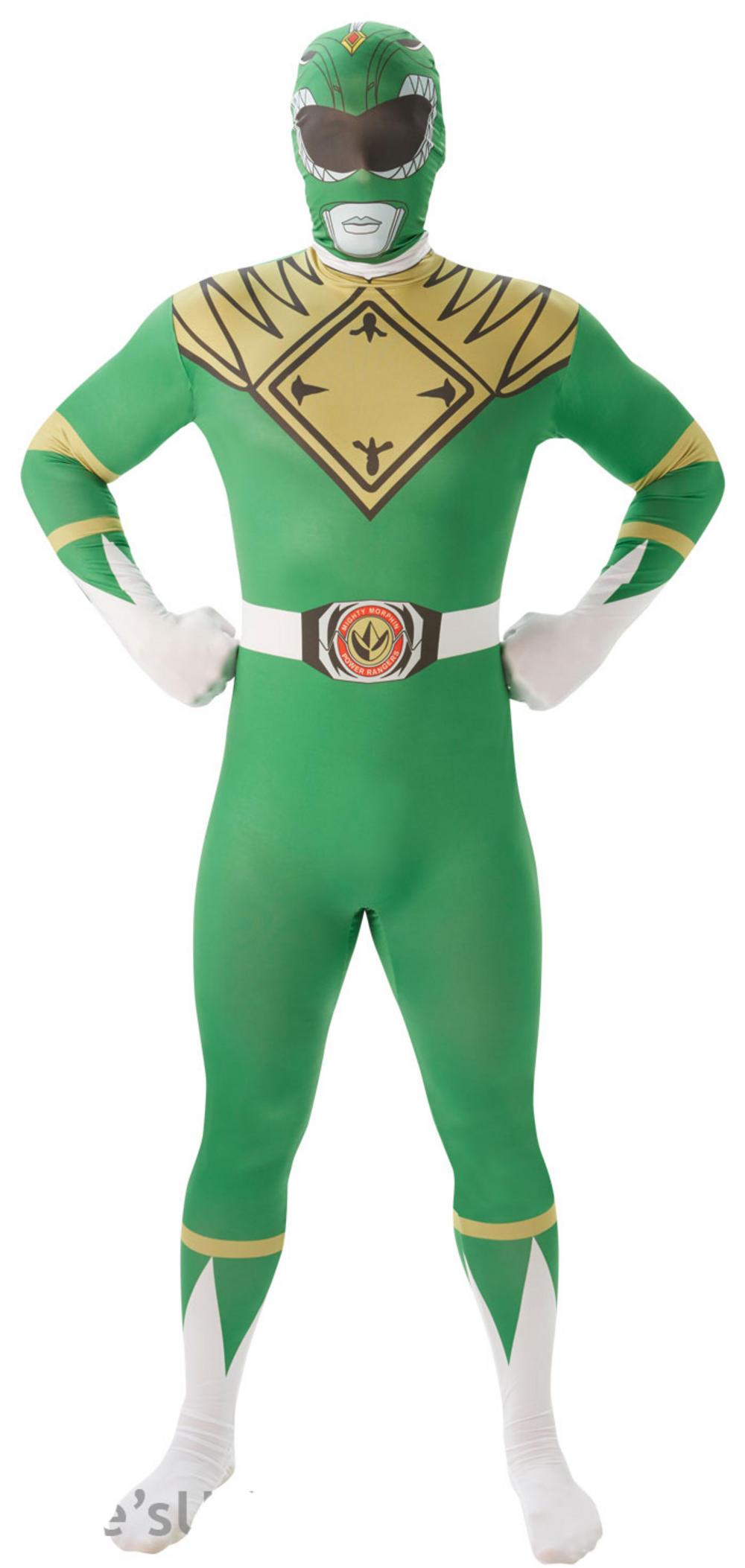Green Power Ranger Mens 2nd Skin Suit