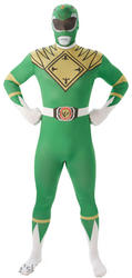 Green Power Ranger Mens 2nd Skin Suit