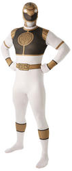 White Power Ranger Mens 2nd Skin Suit