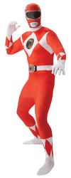Red Power Ranger Mens 2nd Skin Suit