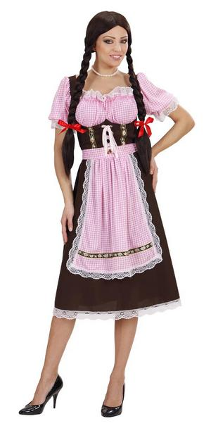 Deluxe Ladies Bavarian Beer Lady Fancy Dress Costume