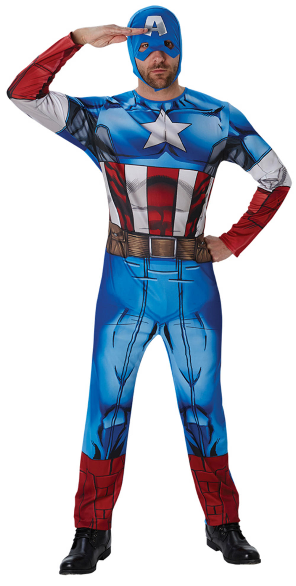 Classic Captain America Mens Costume