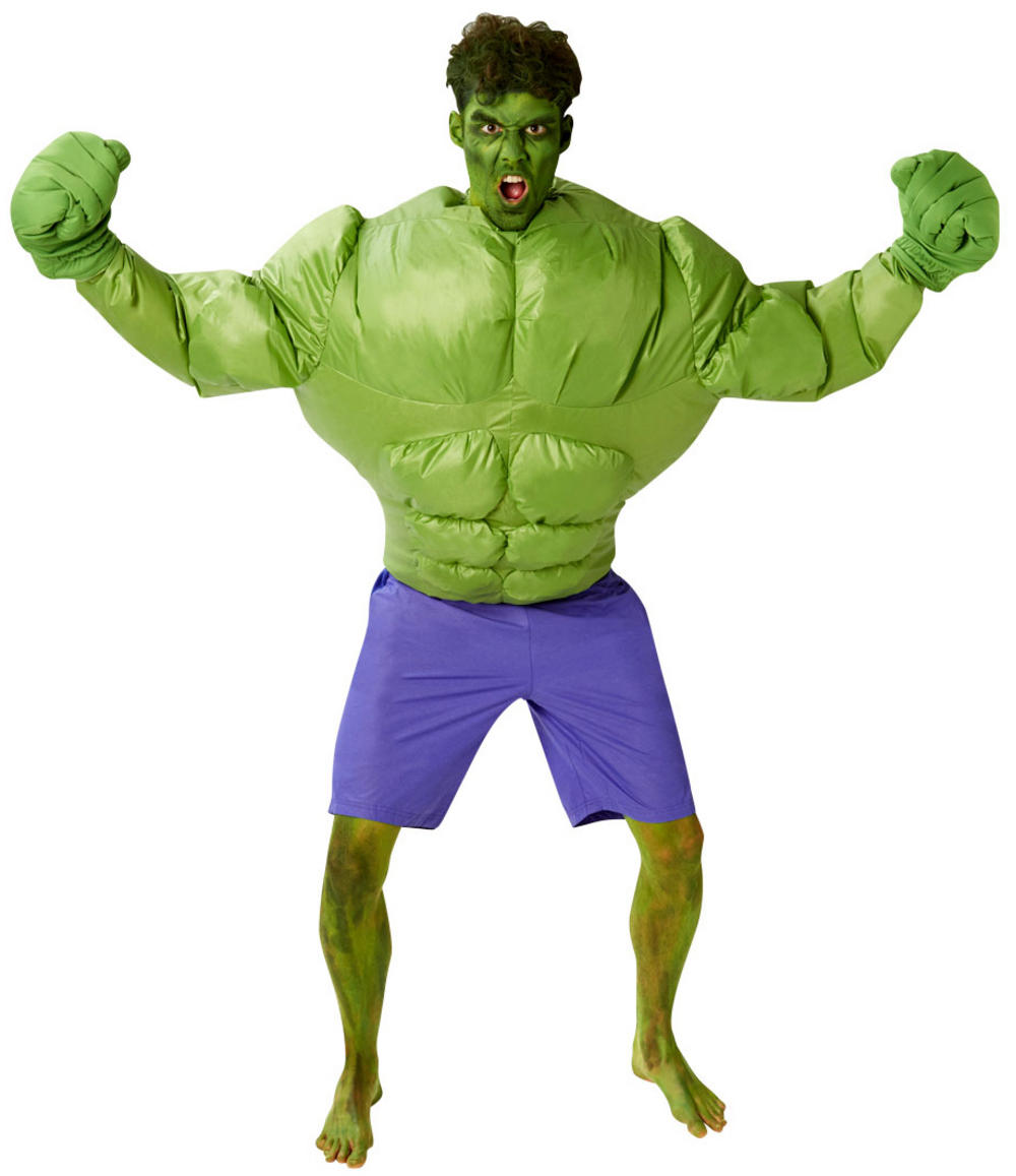 Inflatable Hulk Mens Costume