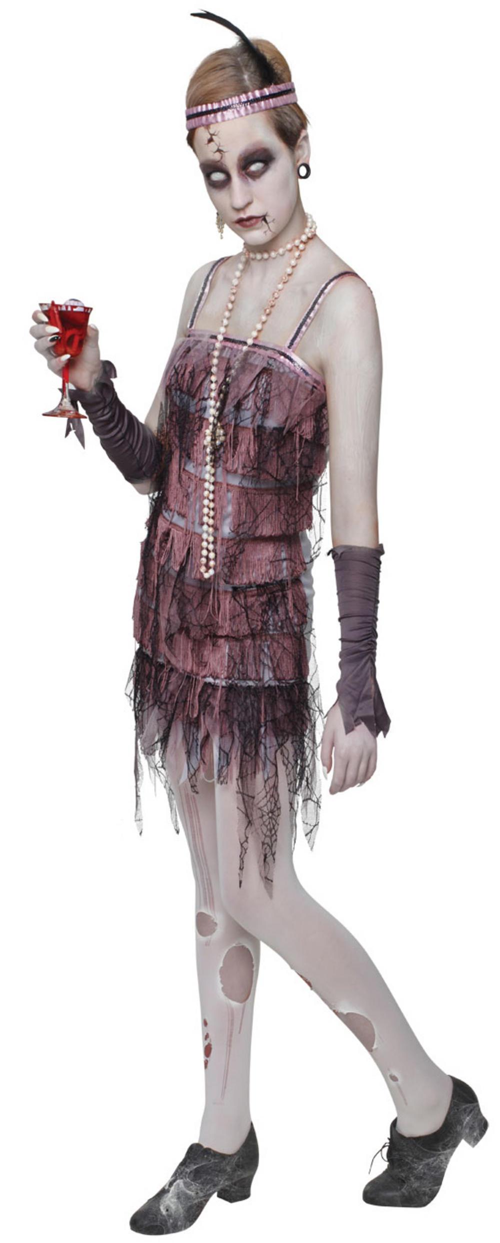 Zombie Flapper Ladies Costume