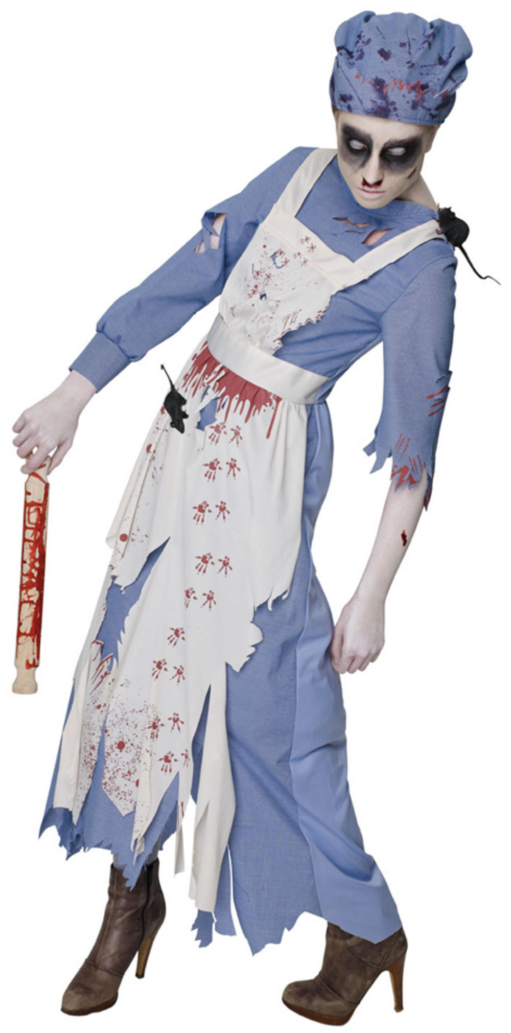 Zombie Maid Ladies Costume
