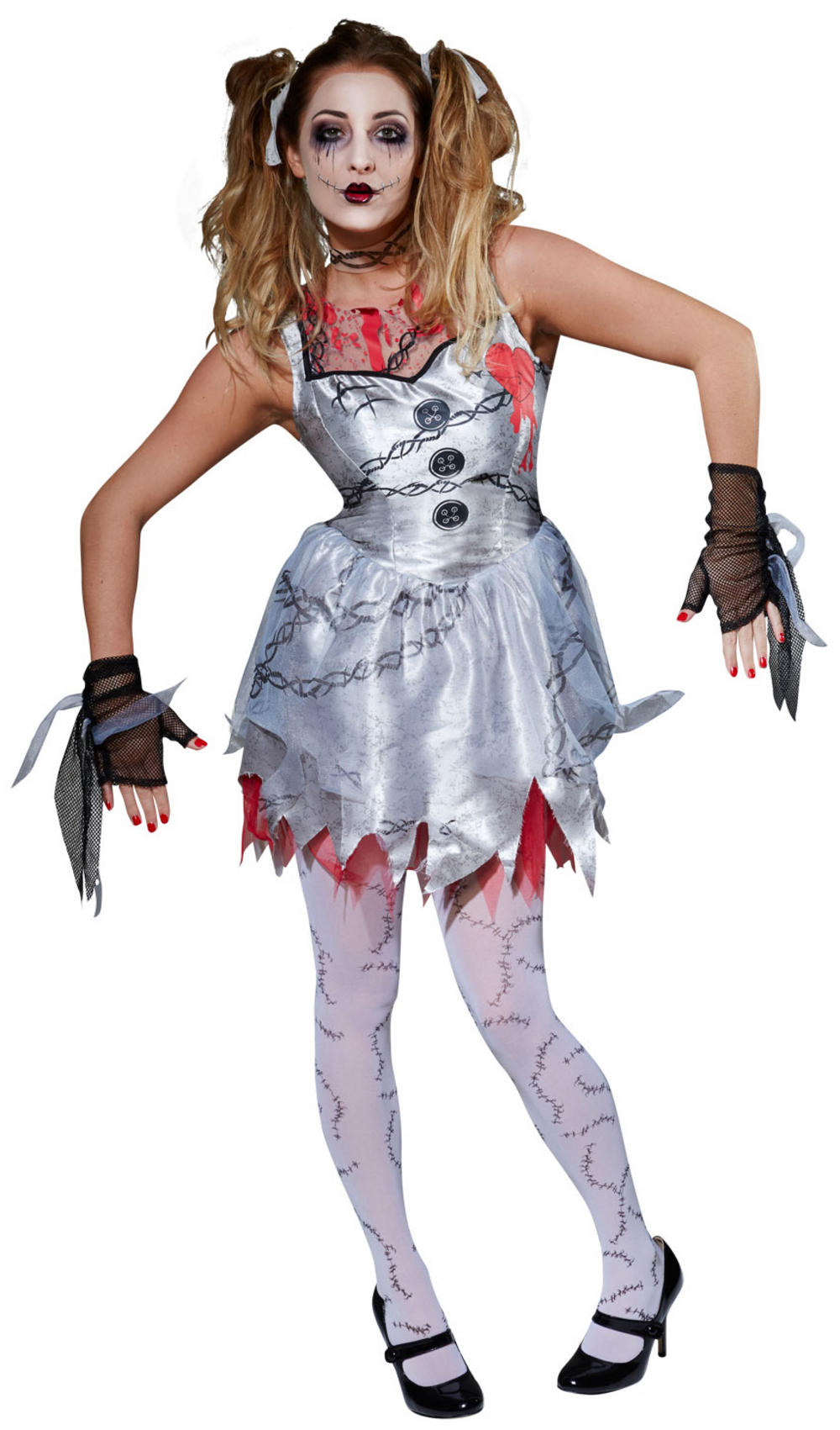 Zombie Doll Ladies Costume