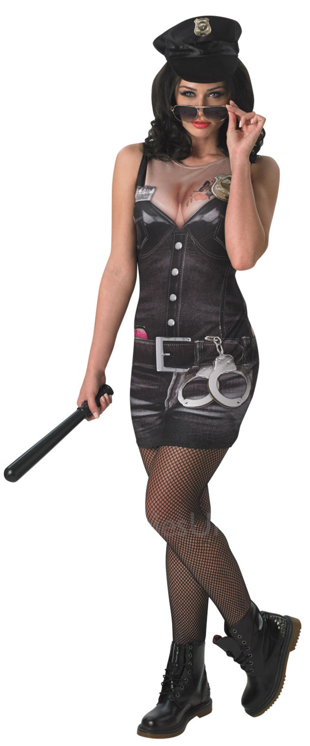 Sexy Cop Ladies Costume