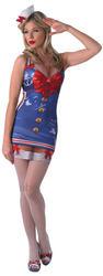 Sexy Saucy Sailor Ladies Costume