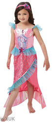 Deluxe Mermaid Princess Girls Costume