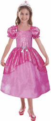 Barbie Pastel Glitter Ballgown Girls Costume