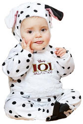 101 Dalmatians Infants Romper Costume