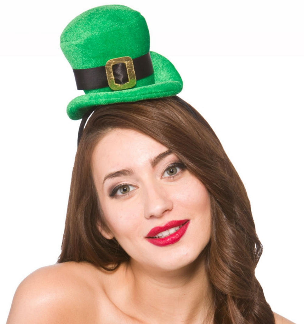 Deluxe Mini St Patricks Day Top Hat