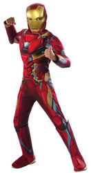 Deluxe Iron Man Civil War Boys Costume