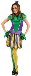 Carnival Jester Ladies Costume