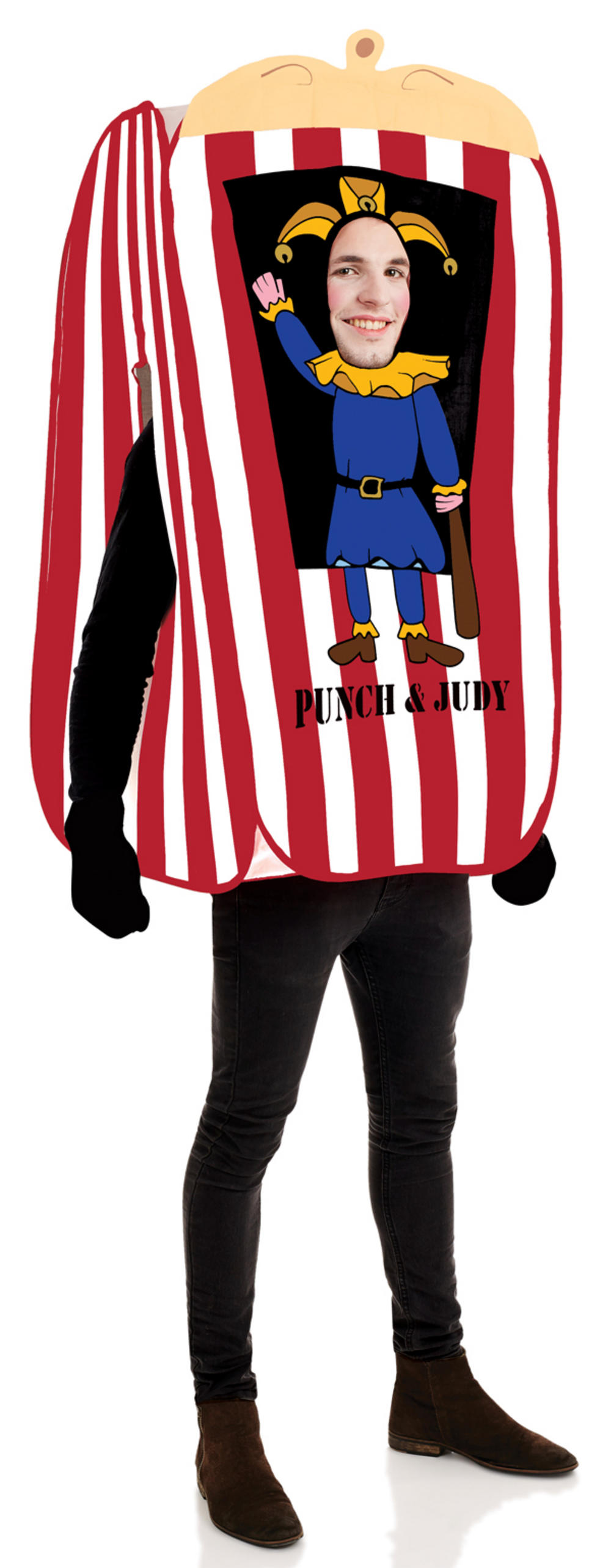 Punch the Puppet Adults Costume