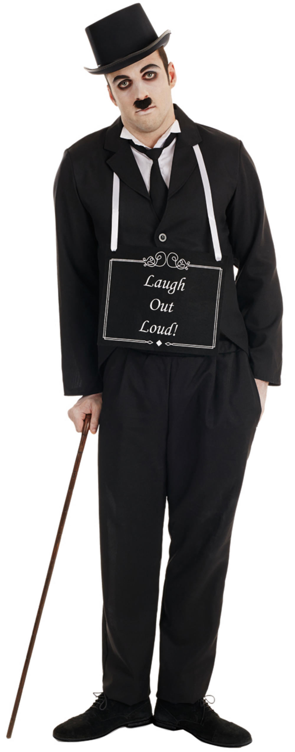 Silent Movie Star Mens Costume