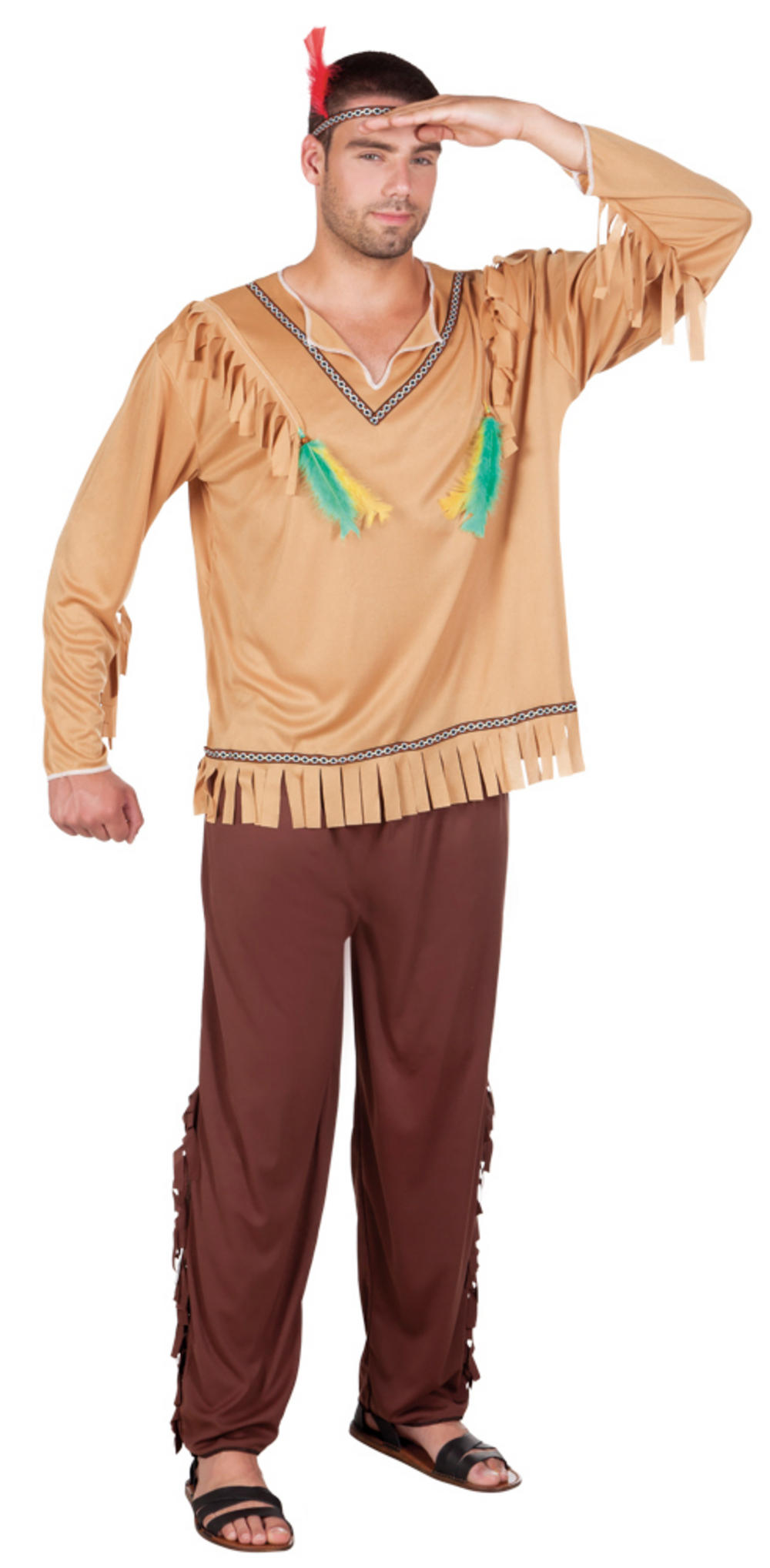 Flying Eagle Mens Costume