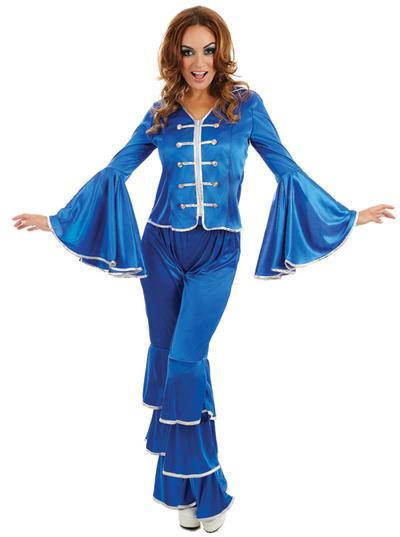 Blue Dancing Queen Ladies Costume