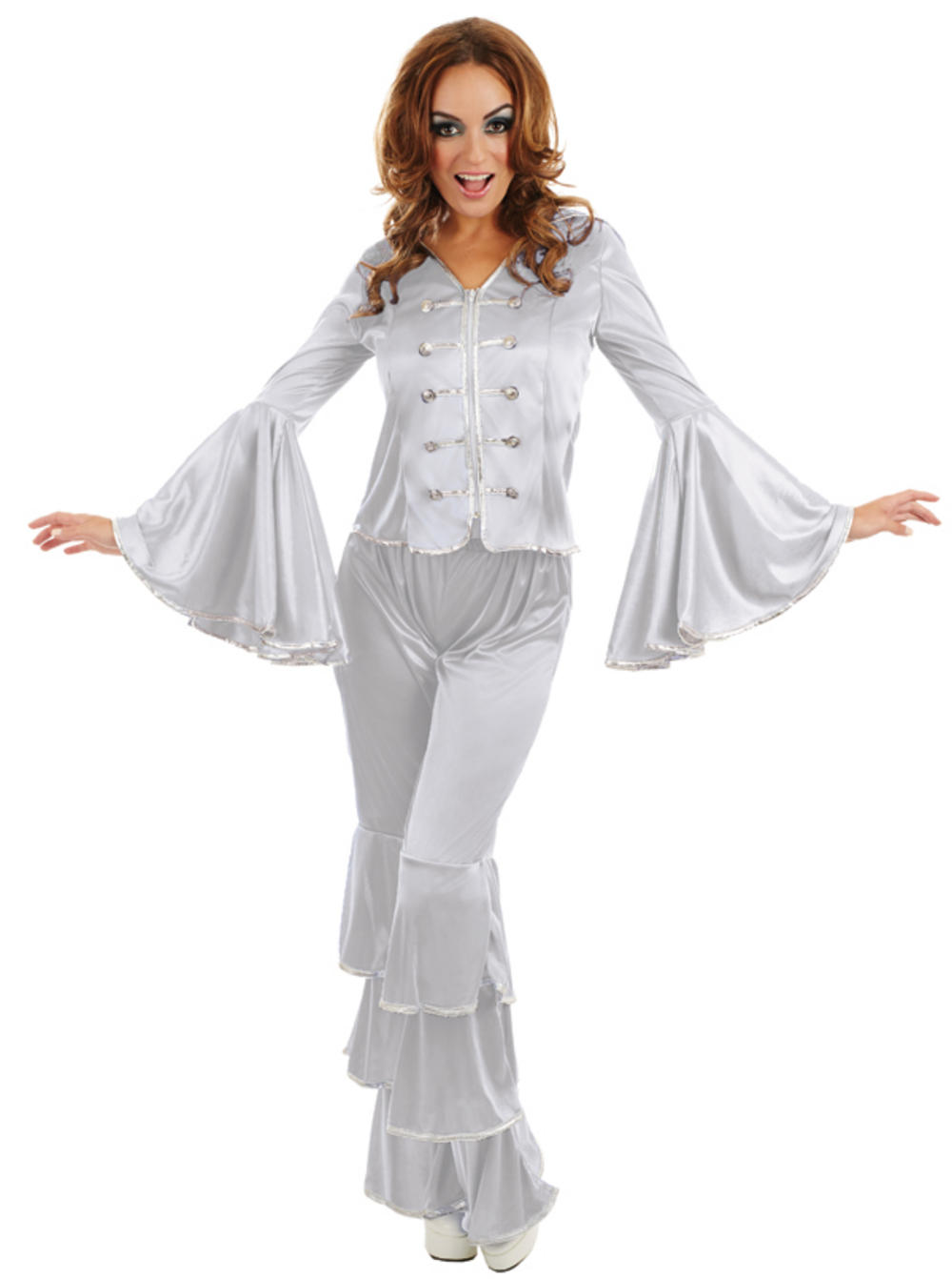 Silver Dancing Queen Ladies Costume