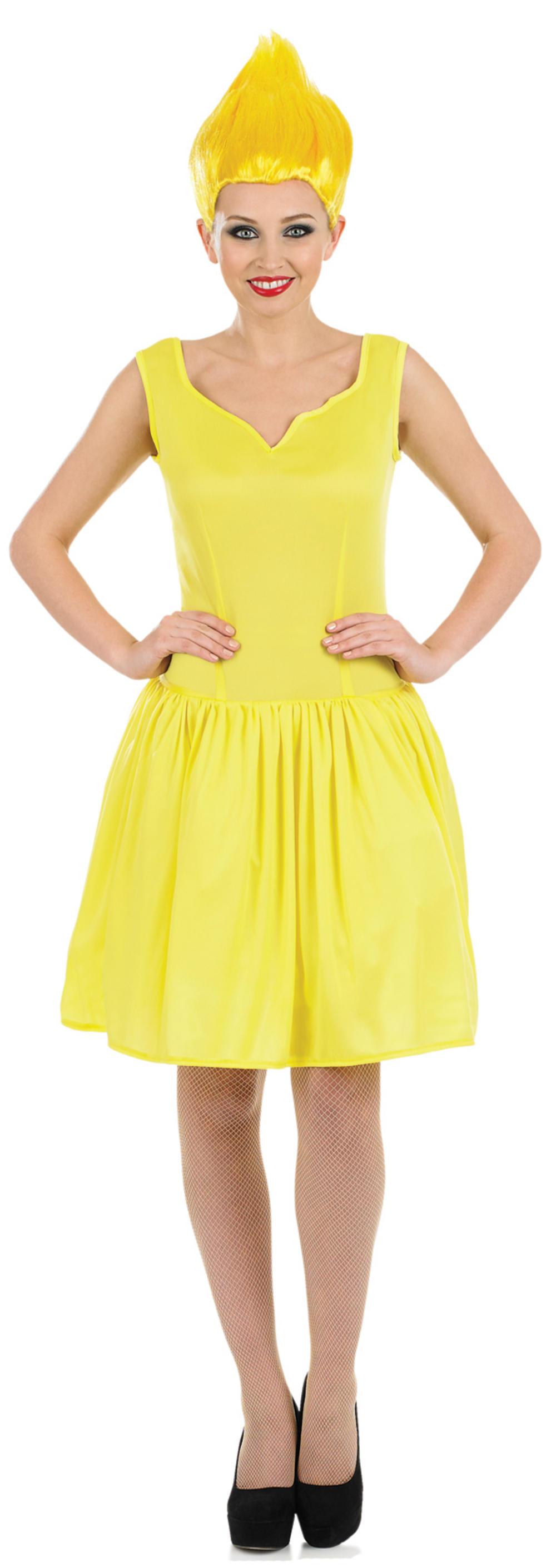Yellow Pixie Ladies Costume