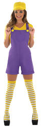 Yellow Plumbers Mate Ladies Costume