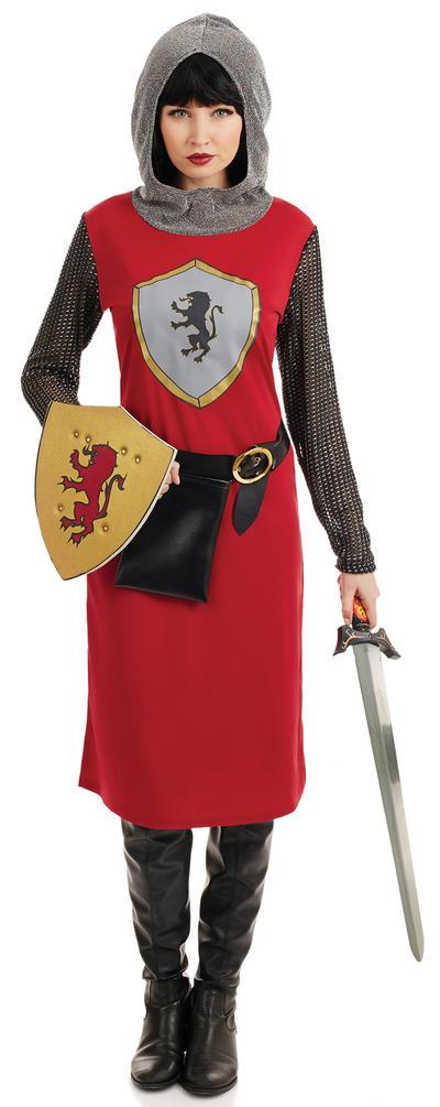 Knightess Ladies Costume