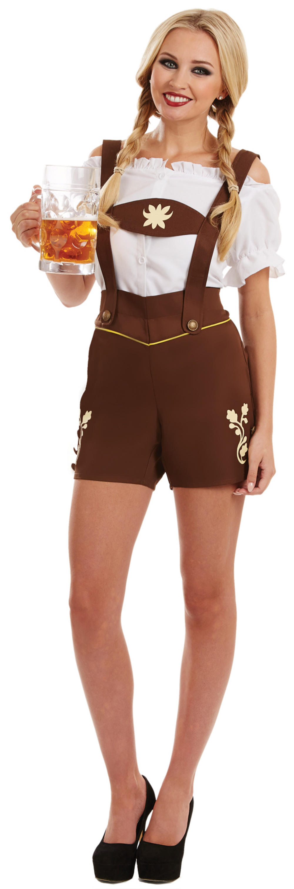 Bavarian Lederhosen Ladies Costume