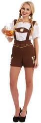 Bavarian Lederhosen Ladies Costume
