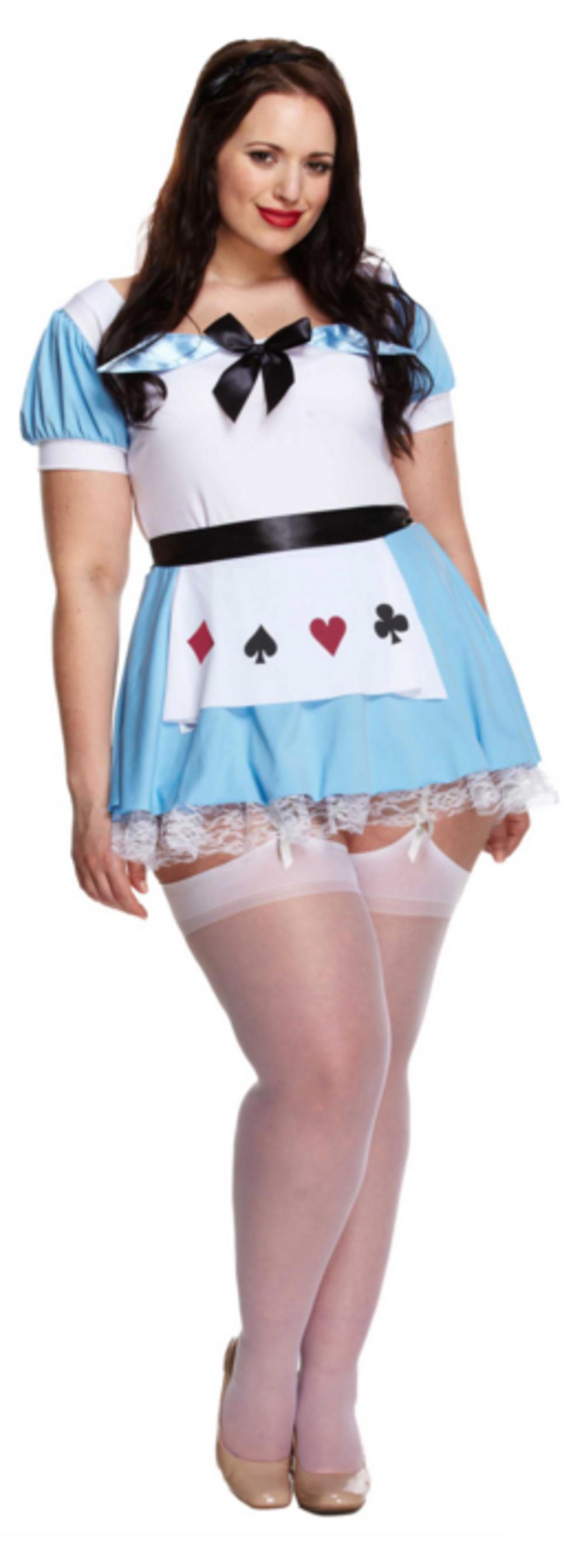 Plus Size Alice Ladies Costume