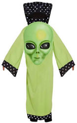 Alien with Giant Face Kids Costume
