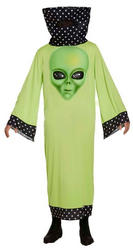 Alien with Giant Face Mens Costume