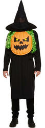Pumpkin with Giant Face Adults Costume