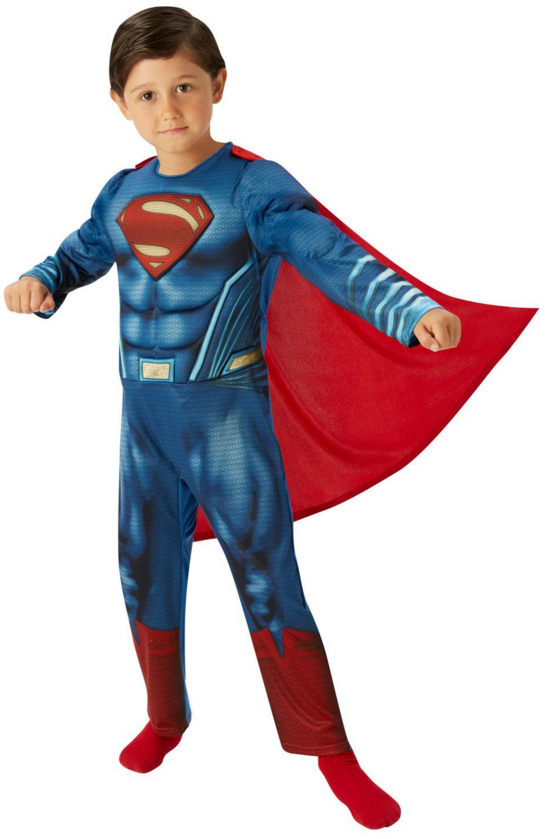 Sentinel Batman v Superman Kids Fancy Dress Dawn of Justice Superhero Childrens Costumes  sc 1 st  eBay & Batman v Superman Kids Fancy Dress Dawn of Justice Superhero ...