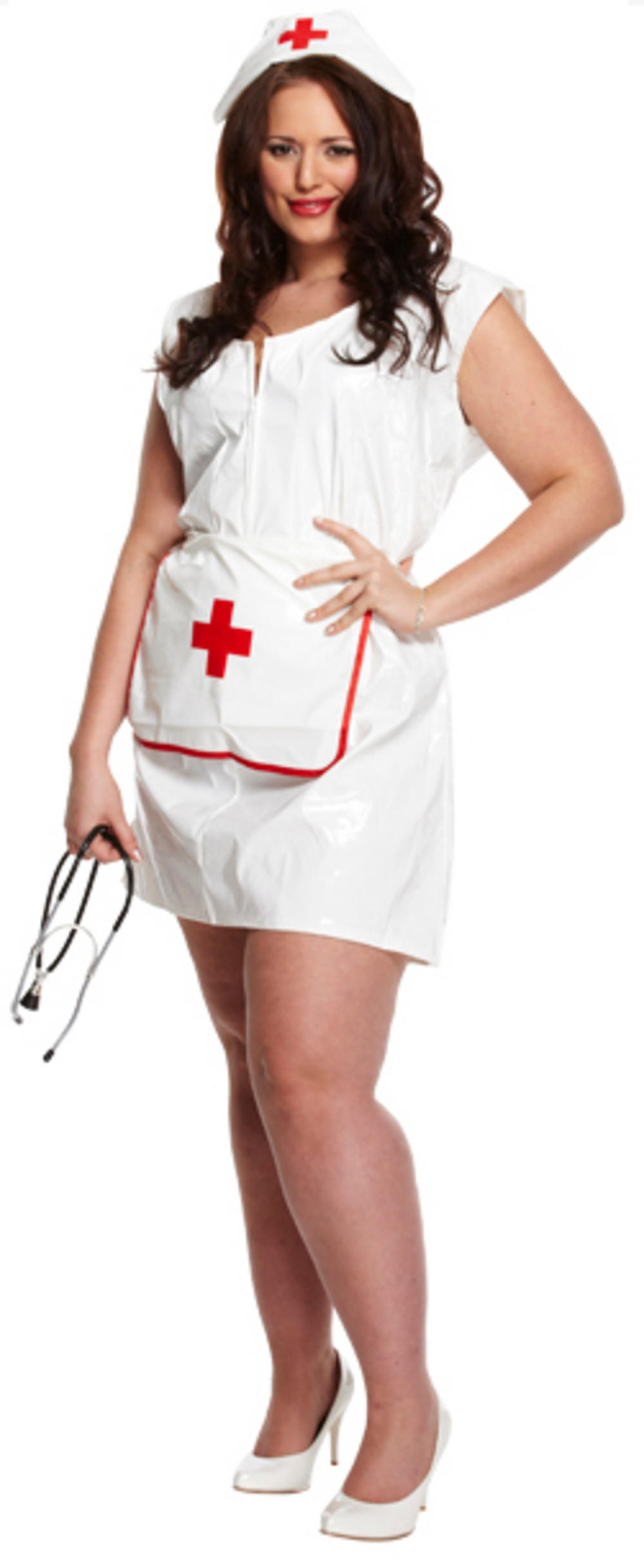 Plus Size Sexy Nurse Ladies Costume
