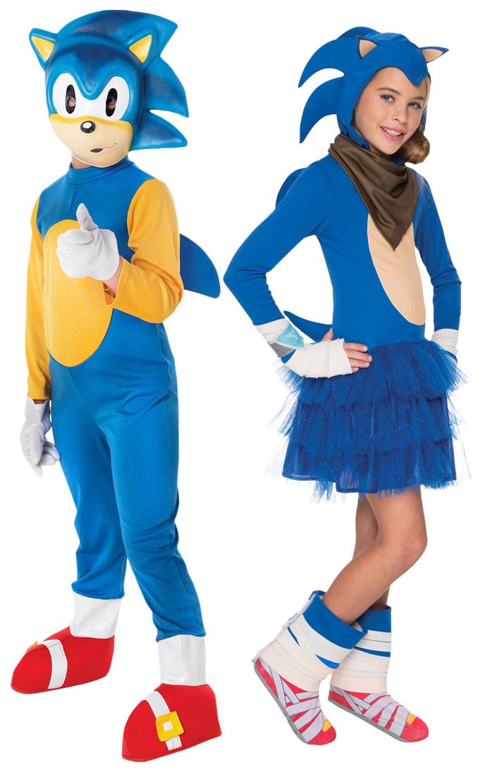 Sentinel Sonic The Hedgehog Kids Fancy Dress Sega Video Game 80s Childrens Costumes New  sc 1 st  eBay & Sonic The Hedgehog Kids Fancy Dress Sega Video Game 80s Childrens ...