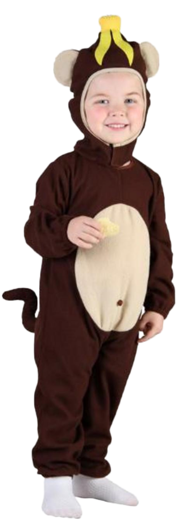 Kids Toddler Monkey Costume