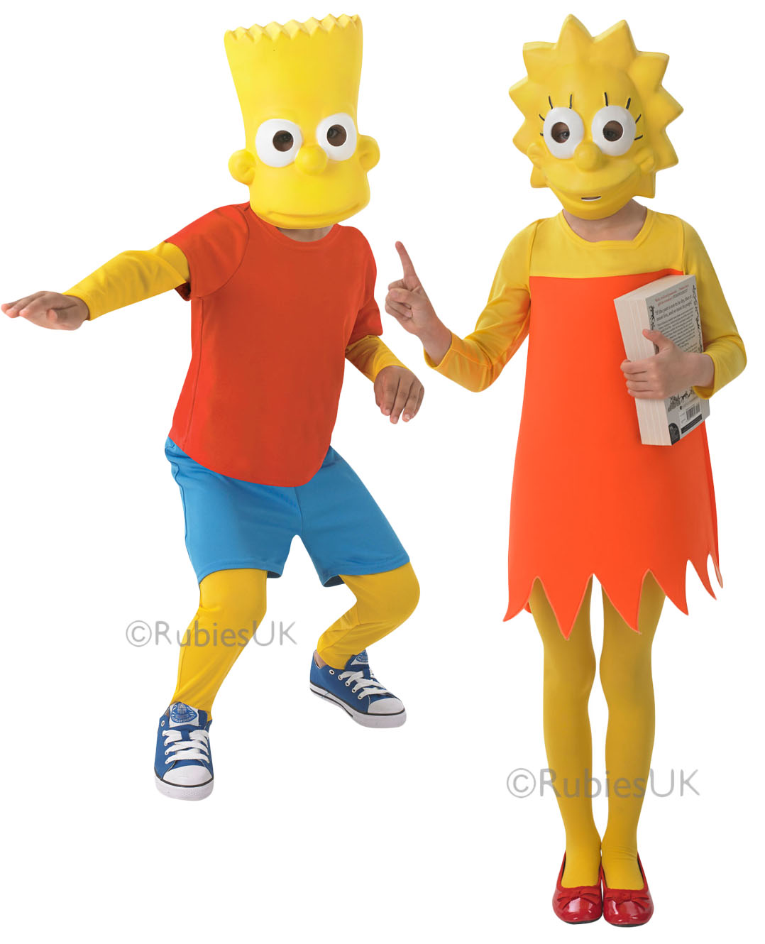 Details about The Simpson Kids Fancy Dress Cartoon Character TV Boys Girls Childrens  Costumes 3179d74fc