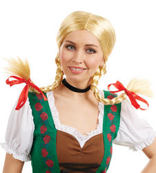 Bavarian Girl Ladies Wig