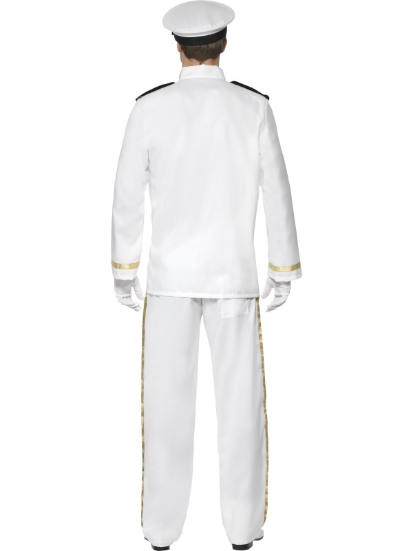 Harbor Freight Return Policy Without Receipt Excel Deluxe White Captain Mens Fancy Dress Uniform Army Military Top  What Is Receipt Number On Green Card Word with Definition Of Invoice In Accounting Sentinel Deluxe White Captain Mens Fancy Dress Uniform Army Military Top  Gun S Costume Digital Invoicing Word