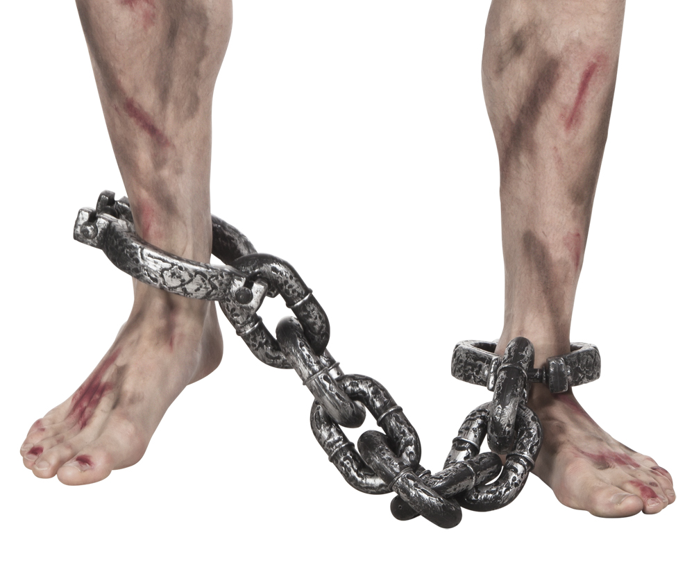 Ankle Shackles Costume Accessory