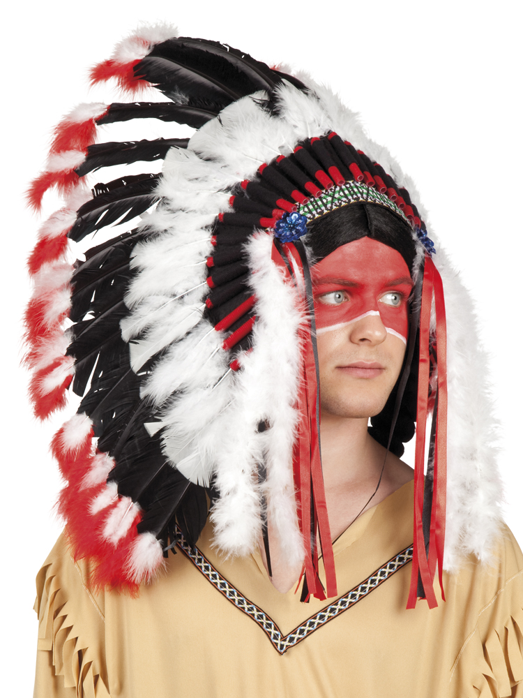 Indian Apache Hat Costume Accessory