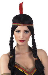 Indian Annea Wig with Headband