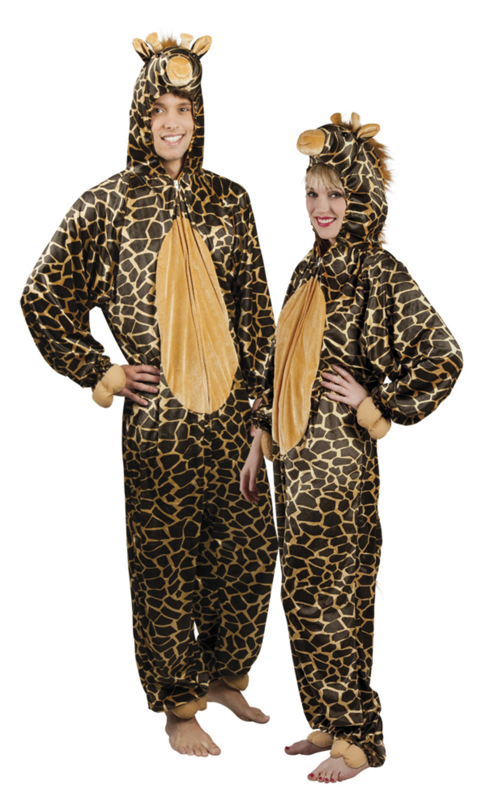 Plush Giraffe Adults Costume