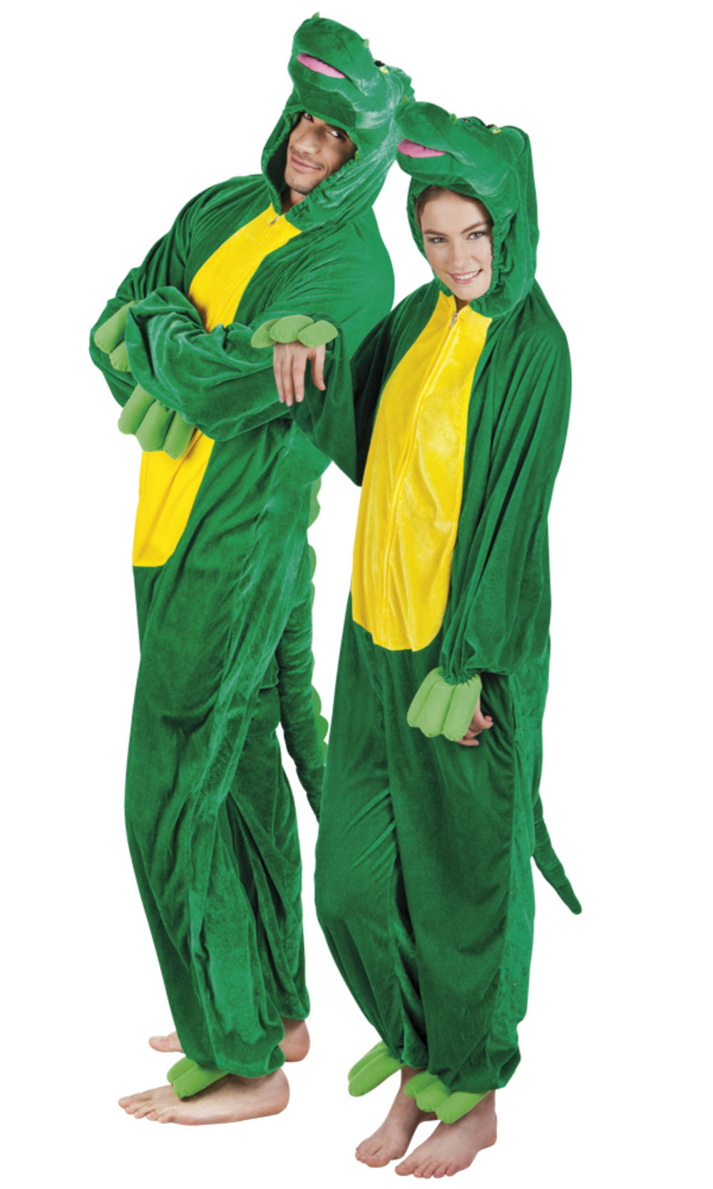 Plush Crocodile Adults Costume