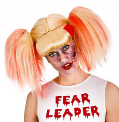 Zombie Cheerleader Ladies Wig