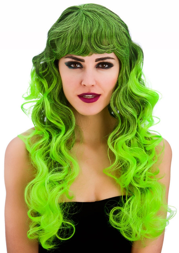 Green Spellbound Ladies Wig  0ca05505acd1