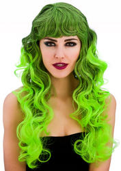 Green Spellbound Ladies Wig