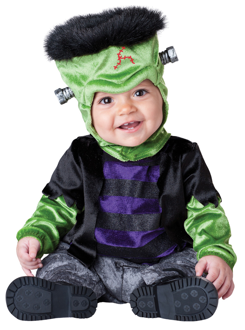 Frankenstein Baby 6-24 Months Fancy Dress Monster Halloween ...