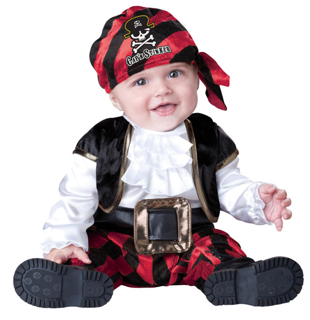 Captain Stinker Pirate Baby Costume